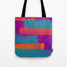 Tone in Stripes Tote Bag