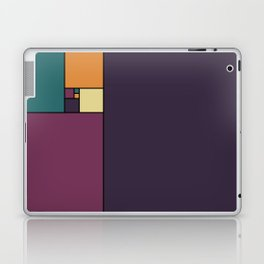 Golden Ratio Squares Laptop & iPad Skin