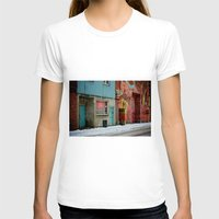 bar T-shirts featuring bar: open by lizbee
