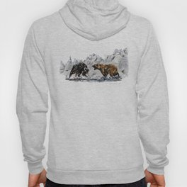Bull and Bear Hoody