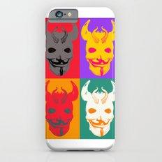 4 Devil Skull Masks iPhone 6s Slim Case