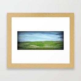 Old Prairie Home Framed Art Print
