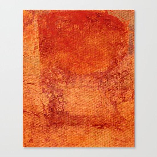 Sotto un Sole Intenso Canvas Print