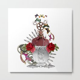 Fish Dream by Lenka Laskoradova Metal Print