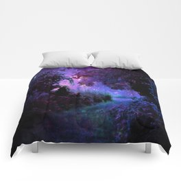 Fantasy Path Purple Comforters