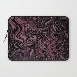 Dark Chocolate Rose Agate Laptop Sleeve