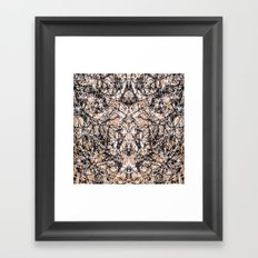 Reflecting Pollock Framed Art Print