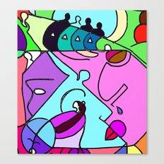 Color Spot Canvas Print