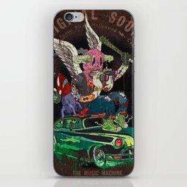 Death Rattle iPhone Skin