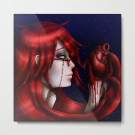 Crimson Madness Metal Print