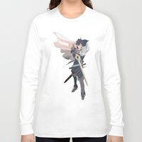 fire emblem Long Sleeve T-shirts featuring Chrom - Fire Emblem Awakening  by MKwon