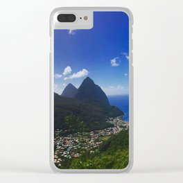 Pitons Clear iPhone Case
