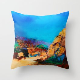 Early Morning Over the Canyon Throw Pillow