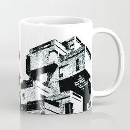 Habitat 67 Modern Architecture B&W Coffee Mug