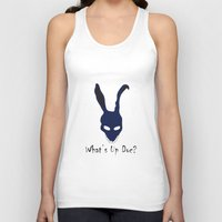 donnie darko Tank Tops featuring Donnie Darko by The Silence