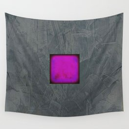 Slate Gray Lavender Fuschia Modern Art Wall Tapestry