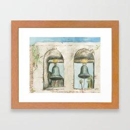 Mission Bells Framed Art Print