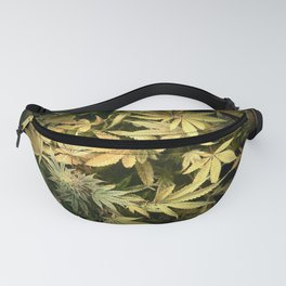 Yellow Cannabis Family Fanny Pack
