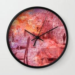 Al Capone's Vibrant Acrylic Cell Wall Clock