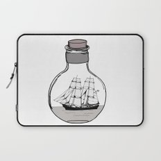 The ship in the bulb Laptop Sleeve