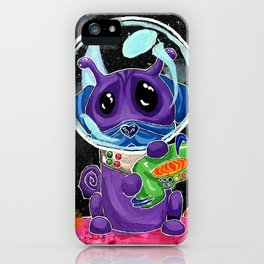 A Good Boy in Space iPhone Case