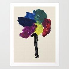 Paint Fetish Art Print