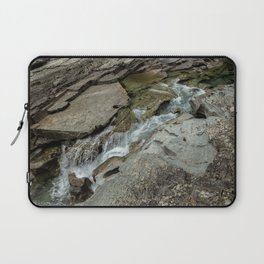 Cutting Through - Glacier NP Laptop Sleeve