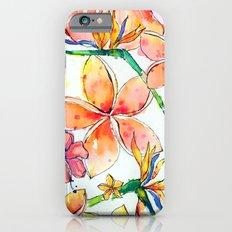 Beautiful tropical things iPhone 6s Slim Case