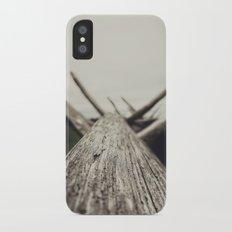 wood Slim Case iPhone X