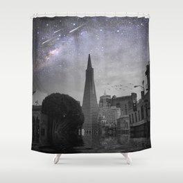 North Beachin Shower Curtain