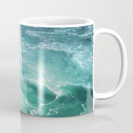 Sea Waves | Seascape Photography | Water | Ocean | Beach | Aerial Photography Coffee Mug