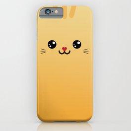 Children imaginary furry friend GINO THE CAT (Chibi Palz cute companion) iPhone Case