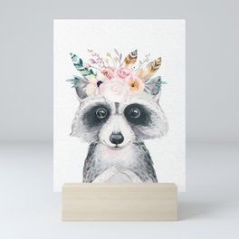Forest Raccoon by Nature Magick Mini Art Print