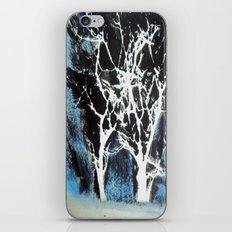 Midnight Trees iPhone & iPod Skin