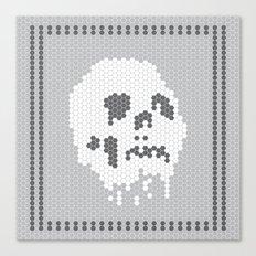 Skull Tile Canvas Print