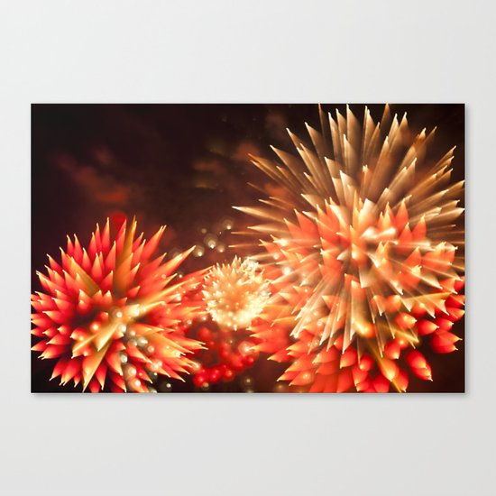 Efflorescence 9 Canvas Print