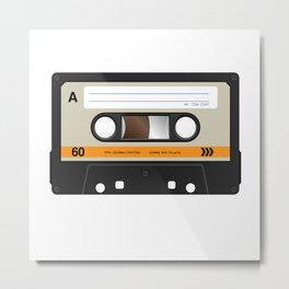 K7 cassette 8 90 Metal Print