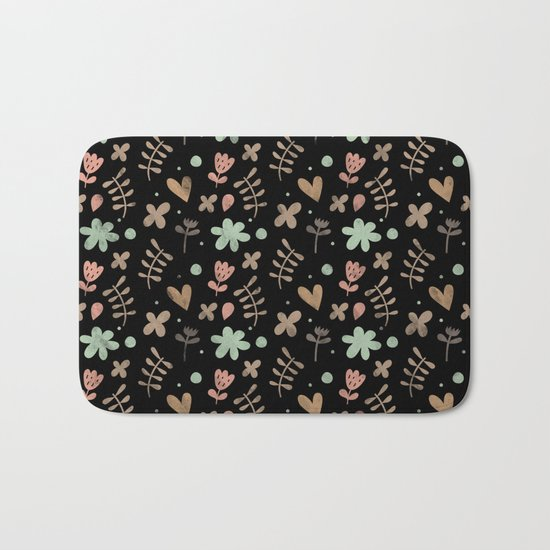Colorful Lovely Pattern III Bath Mat