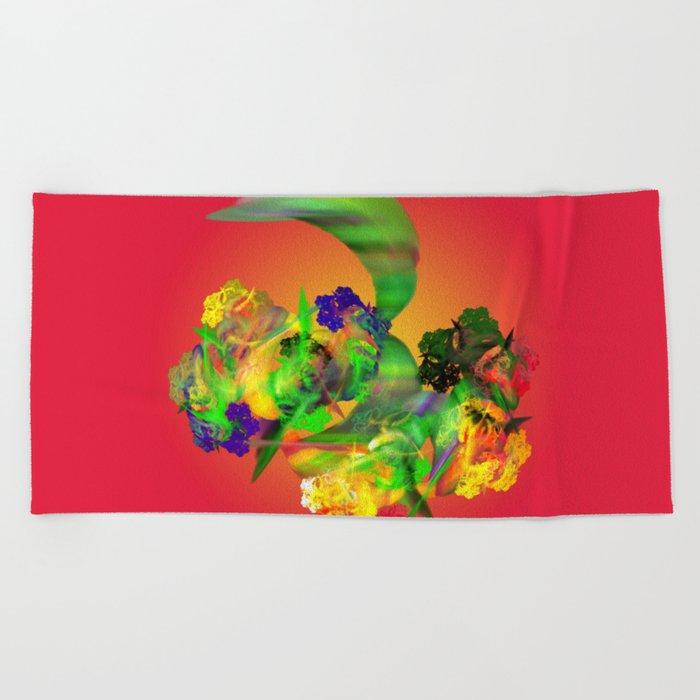 all fruit Beach Towel