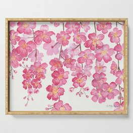 Weeping Cherry Blossom Serving Tray