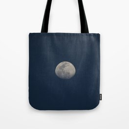 Moon in the afternoon Tote Bag