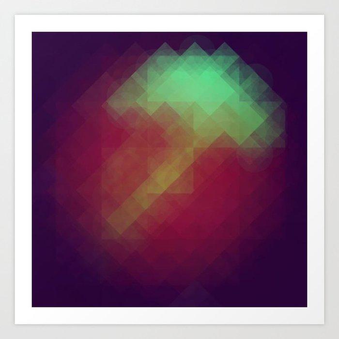 Jelly Pixel Art Print