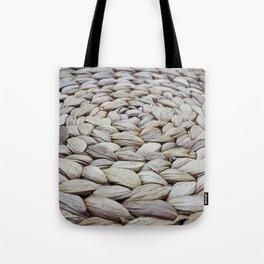 Wicker Basket Weave Tote Bag