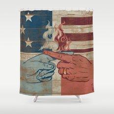 Blame US Shower Curtain