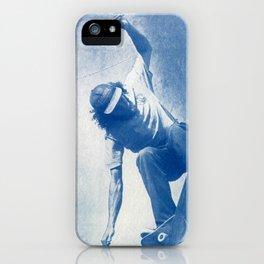 blue dude. iPhone Case