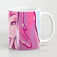 bubblegum Mugs featuring bubblegum by asieybarbie