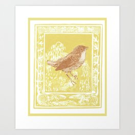 Song bird Art Print