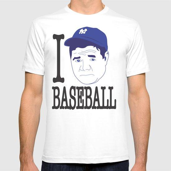 I __ Baseball T-shirt