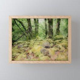 Watercolor in the Woods Edit Framed Mini Art Print