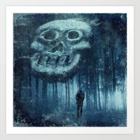 depression Art Prints featuring depression by Dirk Wuestenhagen Imagery